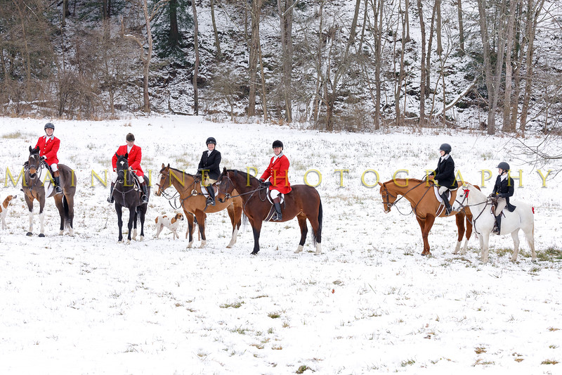 Sewickley Hunt 2017 Holiday snow-13