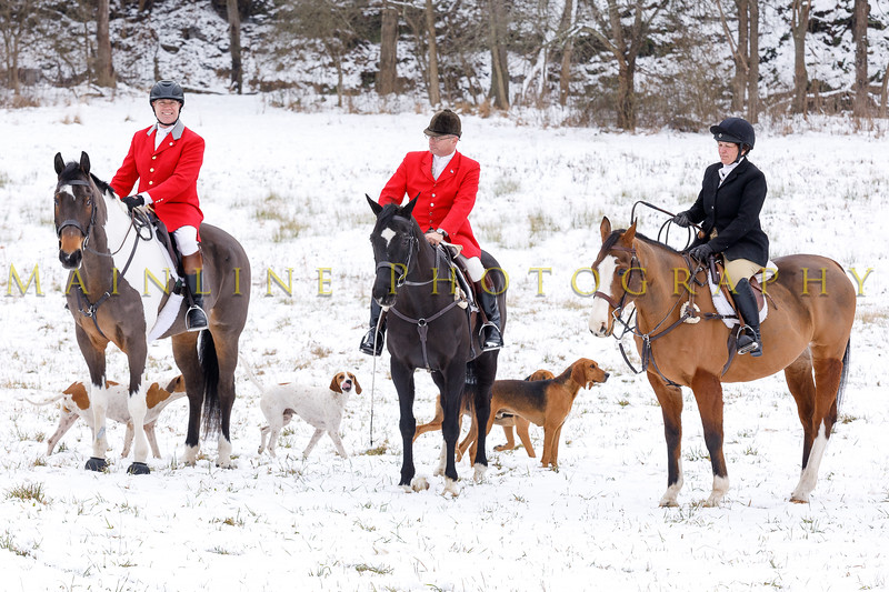 Sewickley Hunt 2017 Holiday snow-12