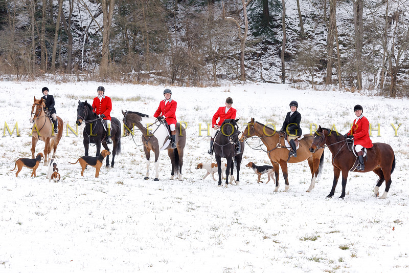 Sewickley Hunt 2017 Holiday snow-14