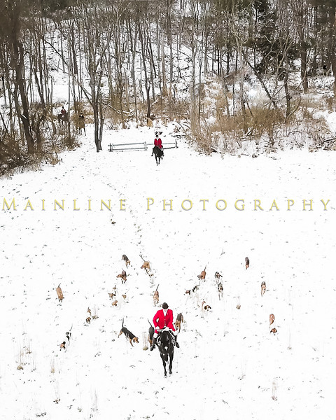 Sewickley Hunt 2017 Holiday snow-2