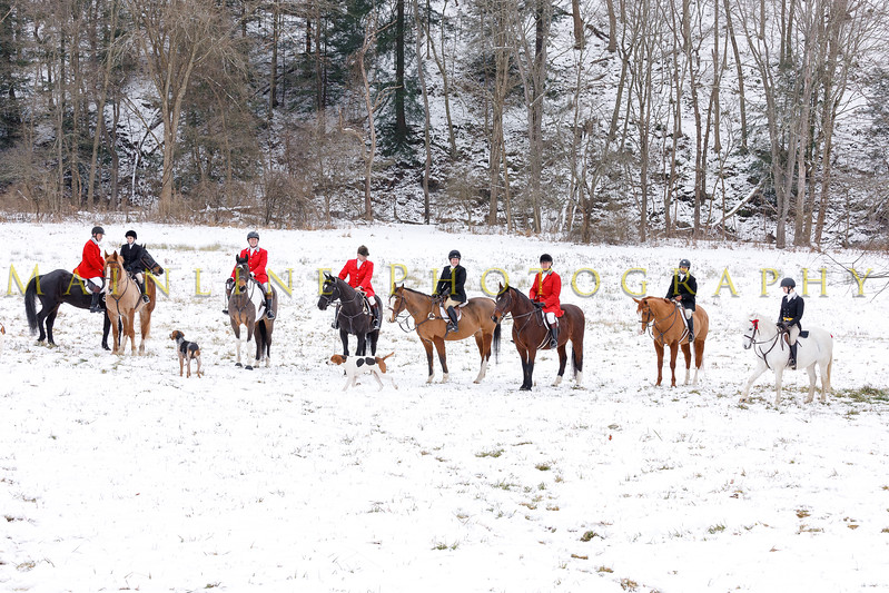 Sewickley Hunt 2017 Holiday snow-18