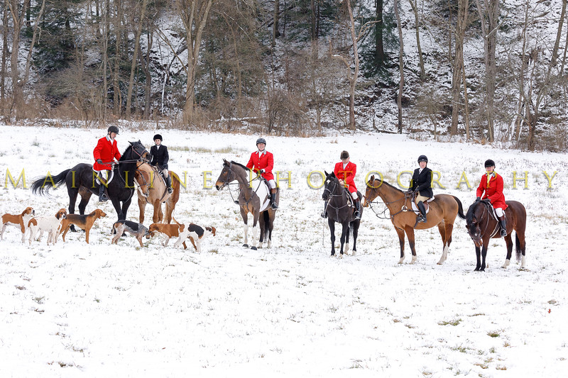 Sewickley Hunt 2017 Holiday snow-17