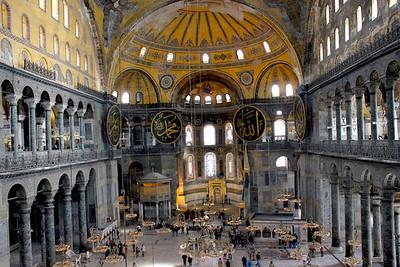 DA093,DT,Hagia Sophia in Istanbul,Turkey