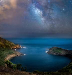 Milky Way on Baía das Caldeirinhas