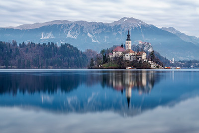 Lake Bled reflection