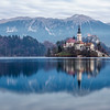 Lake Bled reflection