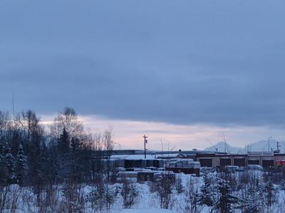 First Sun in Alaska
