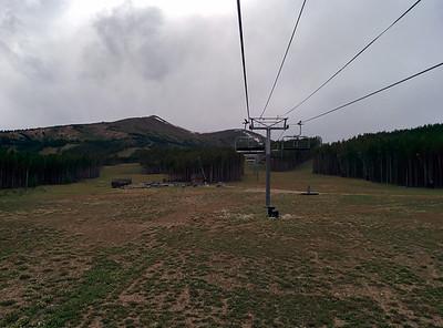 009 - Breckenridge - Riding Up the Ski Lift 1