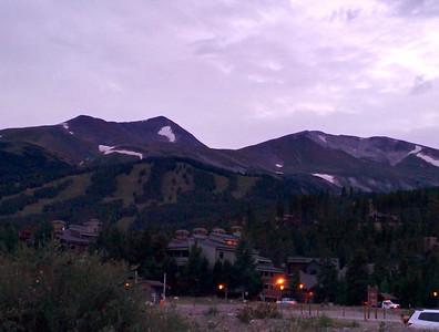 25 - Breckenridge - Mountains at Dusk