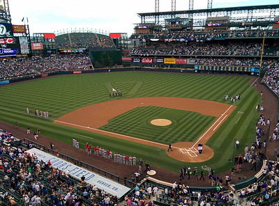 001 - Coors Field - Reds at Rockies