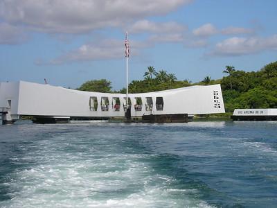 Leaving USS Arizona Memorial