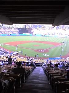Dodger Stadium Pregame