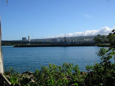 Honolulu from Pearl Harbor 2
