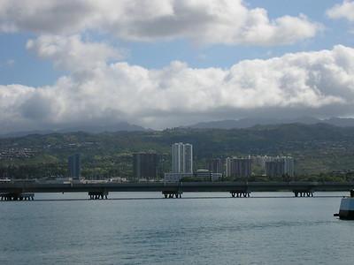 Honolulu from Pearl Harbor