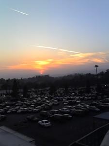 Dodger Stadium Sunset