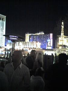 The Vegas Strip at Midnight