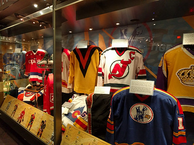 012 - Toronto - HHoF - Old Jerseys