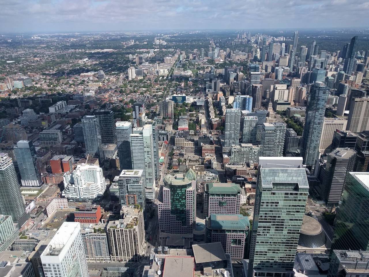 053 - Toronto - CN Tower - North View