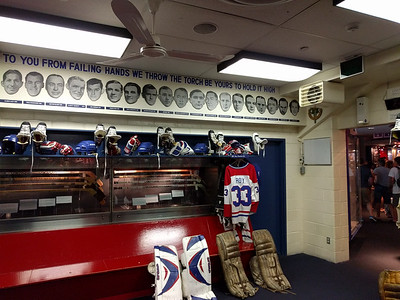 013 - Toronto - HHof - Replica Canadiens Locker Room