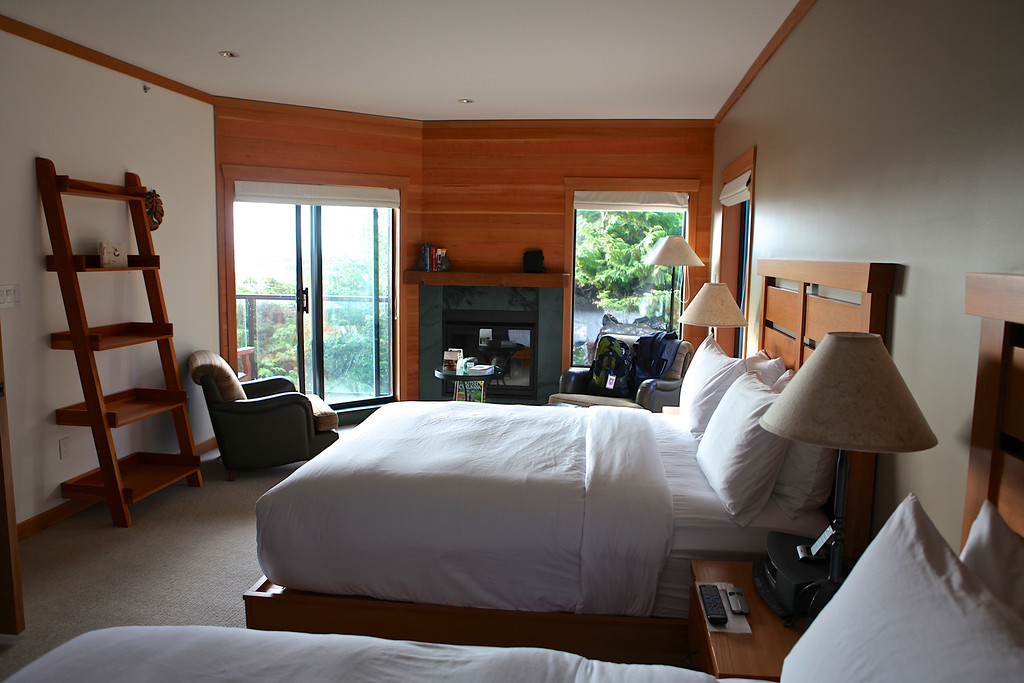 Rooms at the Wick were remodeled extensively in 2012.