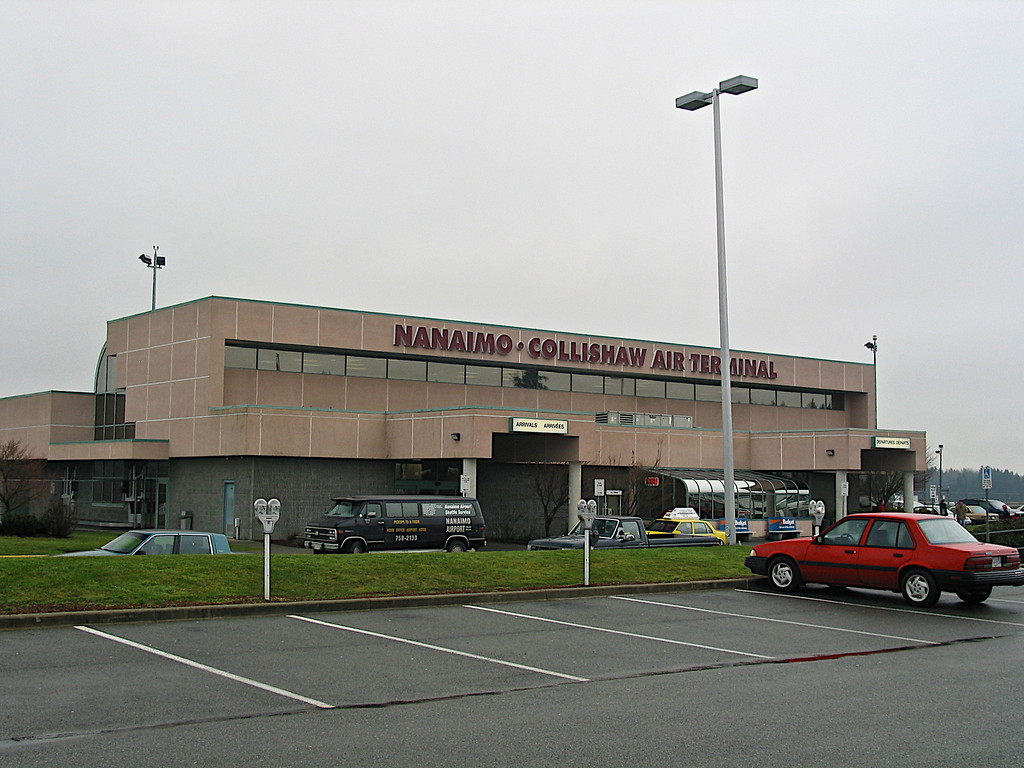 Should you choose to fly by convential aircraft and assuming the weather cooperates, you can also land at the Nanaimo Air Terminal south of town from Vancouver.