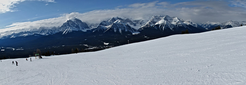 There is so much terrain to ski at Lake Louise that you can easily find great snow no matter what time of day it is.