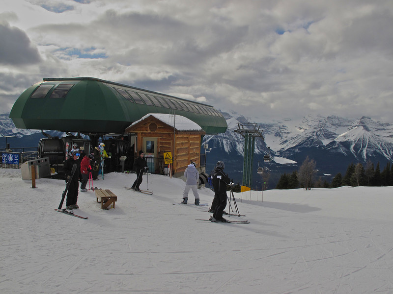 Lake Louise has one gondola lift as well.