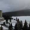It's not uncommon during the winter to have a short snow squall at the lake even when the sun is out.