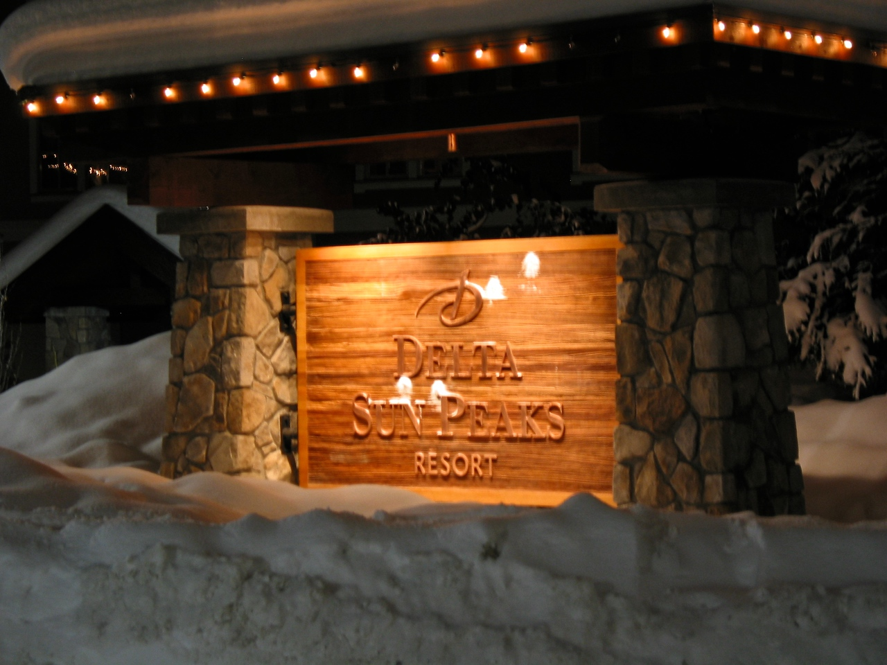 The Delta is the only true hotel at Sun Peaks.