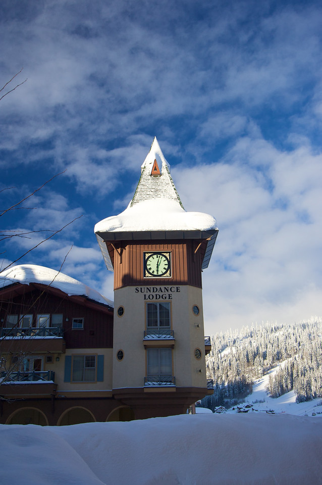 Sun Peaks has one large hotel and many other hotel/condo places to stay.