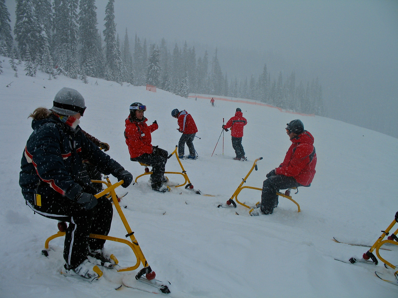 Snowbiking has become popular in the last 5-6 years in the US and Canada.