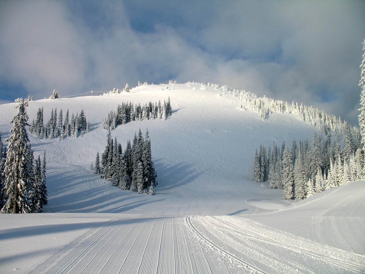 "With over 200"" of snow each year, Sun Peaks is the definition of winter wonderland."