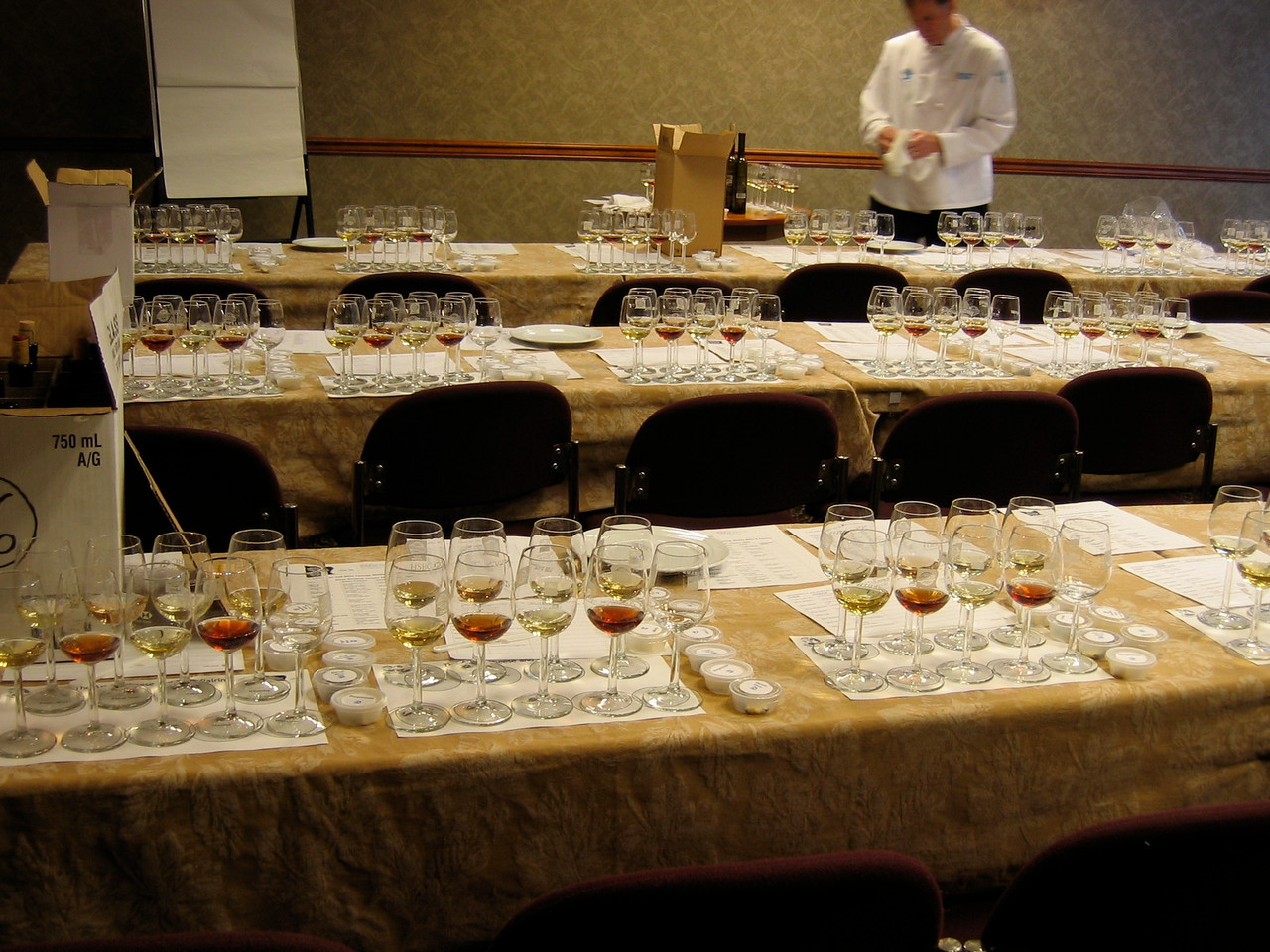 Each day there are different seminars that include not only wines, but also cheese, chocolates and other wine related foods.