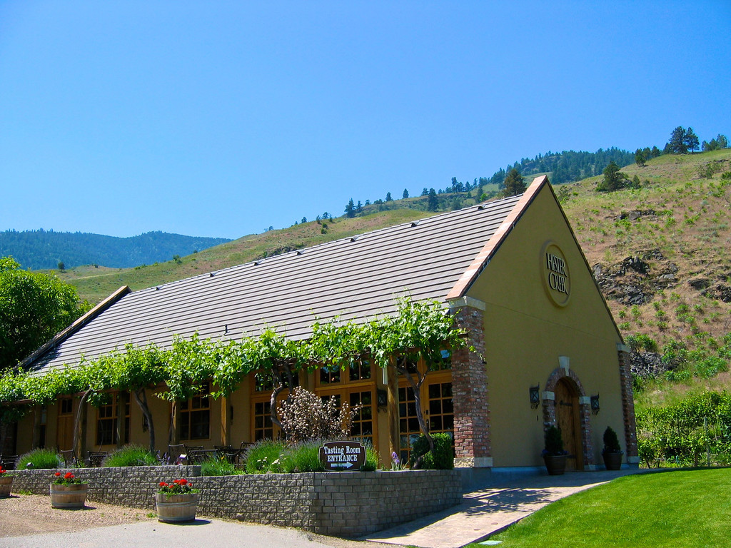 Sharing the same entrance as Gehringer, is Hester Creek Winery.