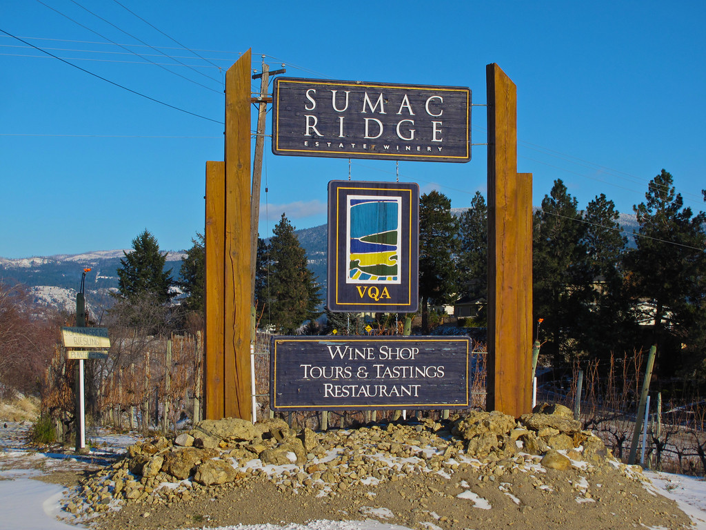 One of our long time favorite wineries is Sumac Ridge.