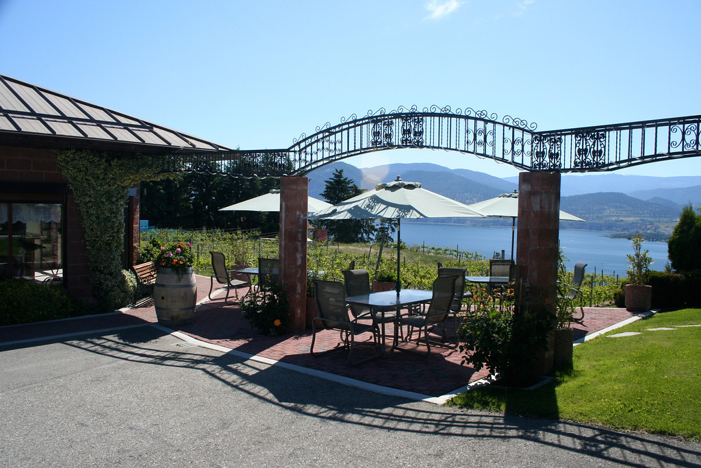 One of our favorite wines from Lang is their Maple Icewine.  They also have a great patio that overlooks the lake.