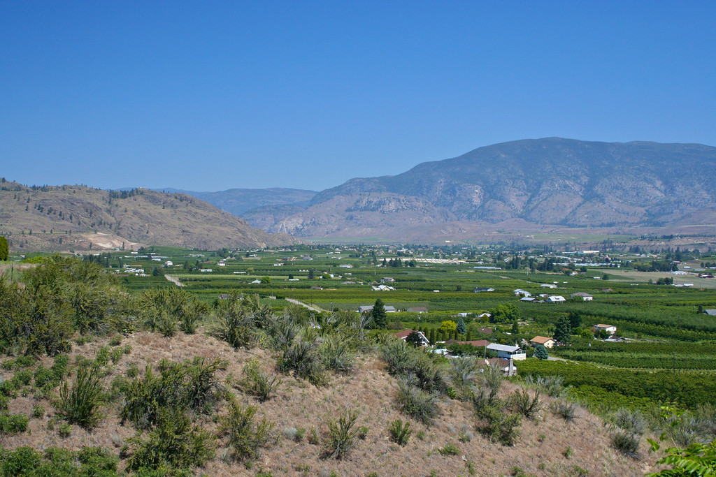 The Okanagan Valley is unique in that it has many microclimates in such a short distance span of the valley.