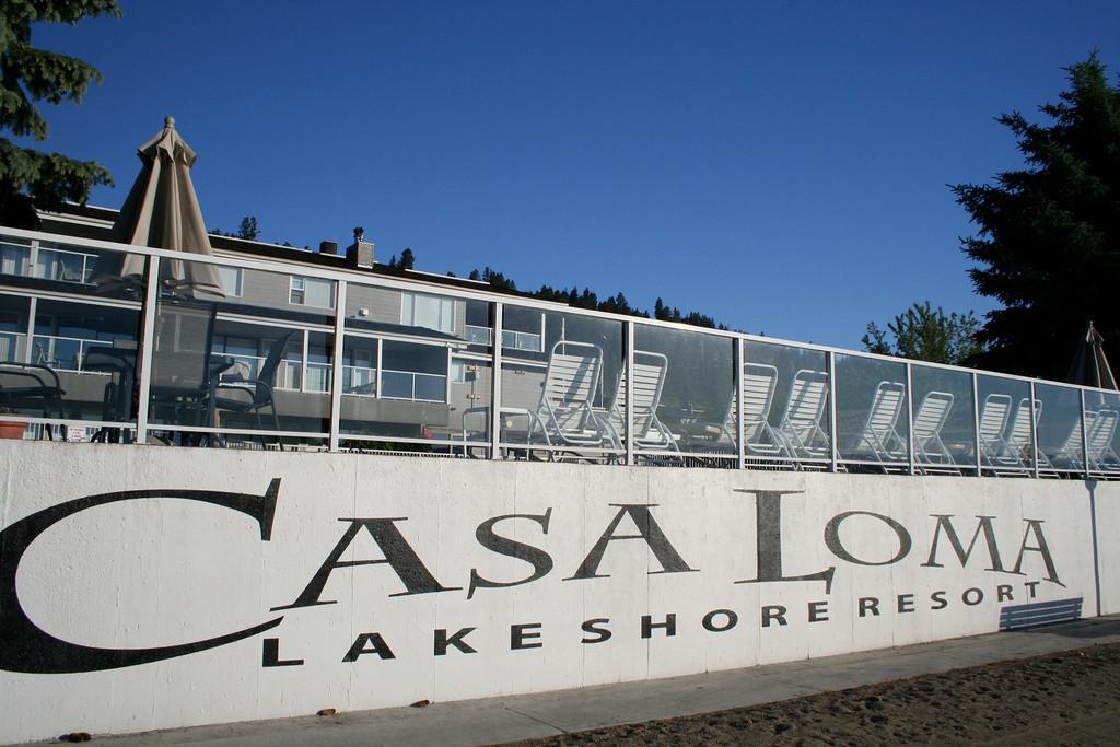 Casa Loma Resort on the shores of Lake Okanagan in Kelowna, BC.