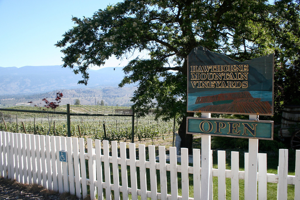 Further down the valley, their sister winery is Hawthorne Mountain Vineyards at Okanagan Falls.  The name has recently changed to See Ya Later Ranch.