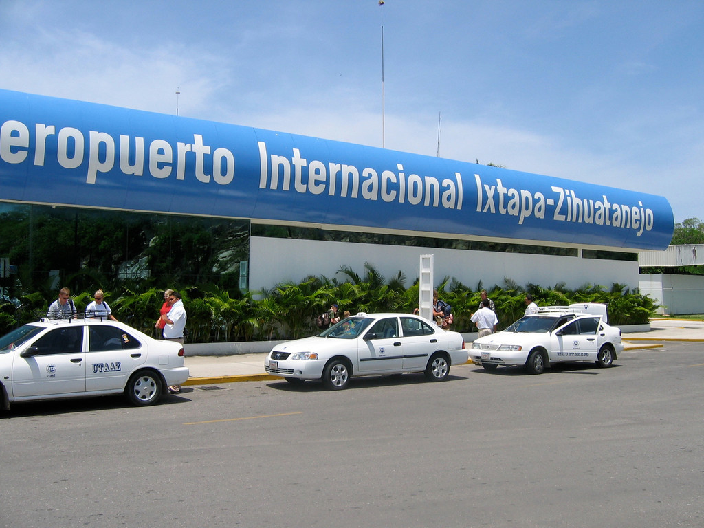 Ixtapa and Zihuatanejo are about 145 miles northwest of Acapulco.