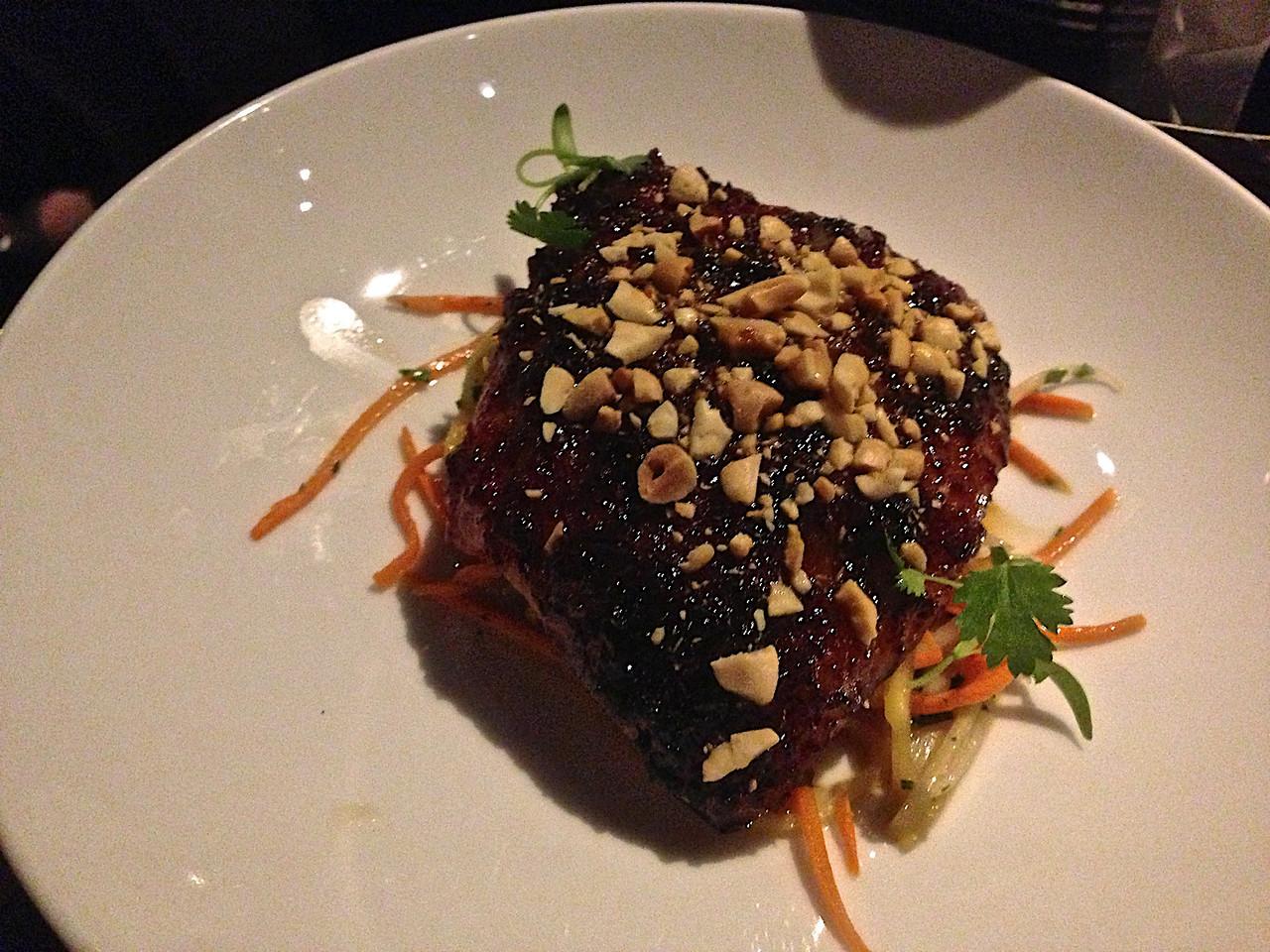 Vietnamese caramel pork jowl