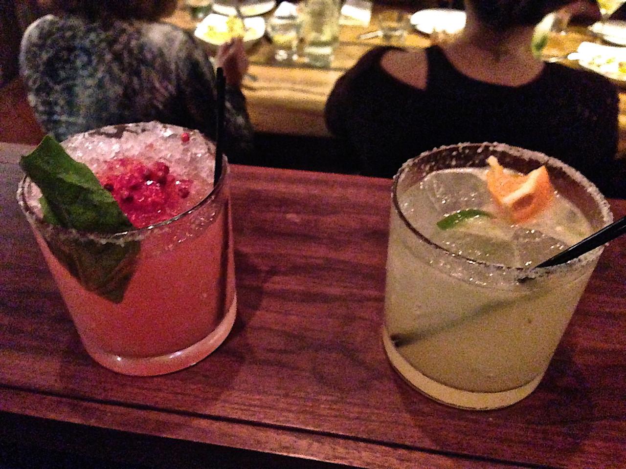 Drinks that are phenom and change seasonally.