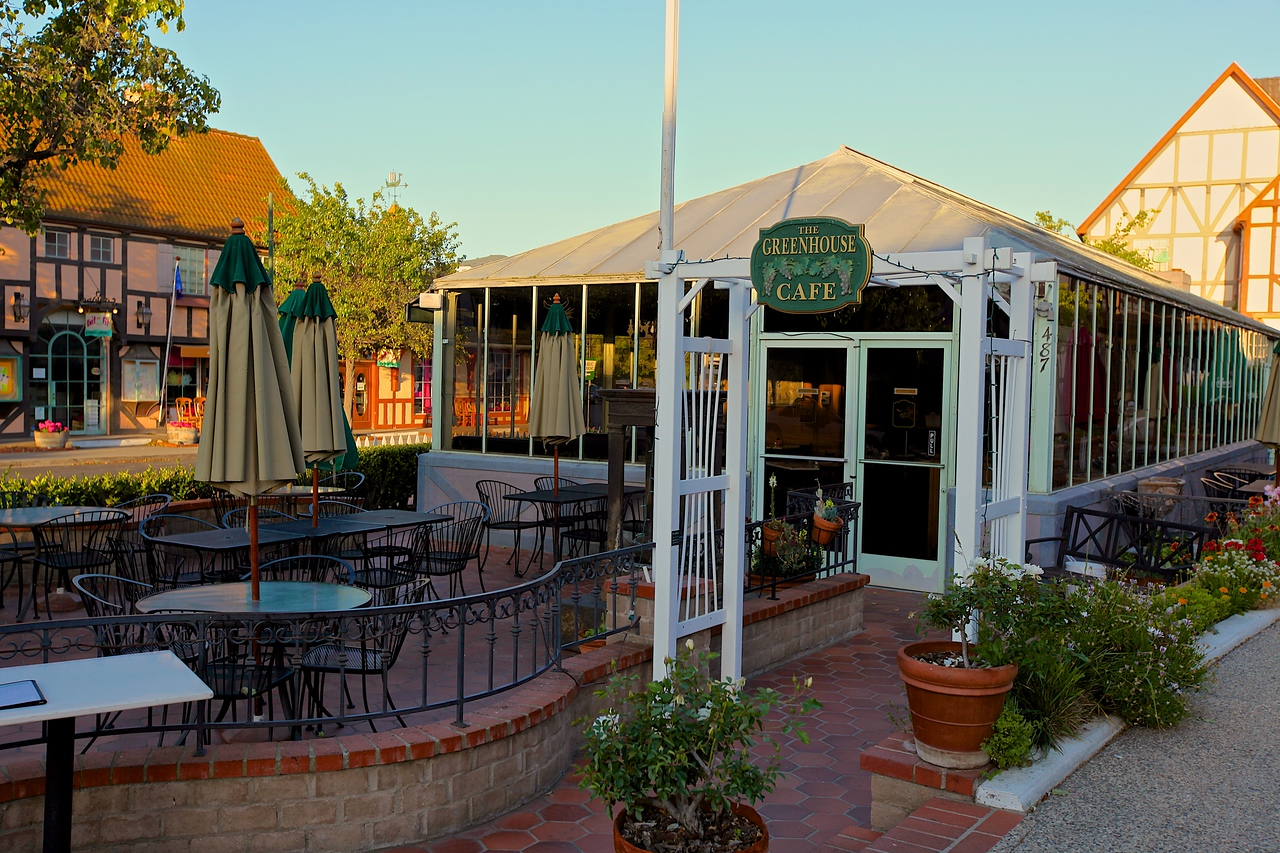 There's not a shortage of places to eat in Solvang.