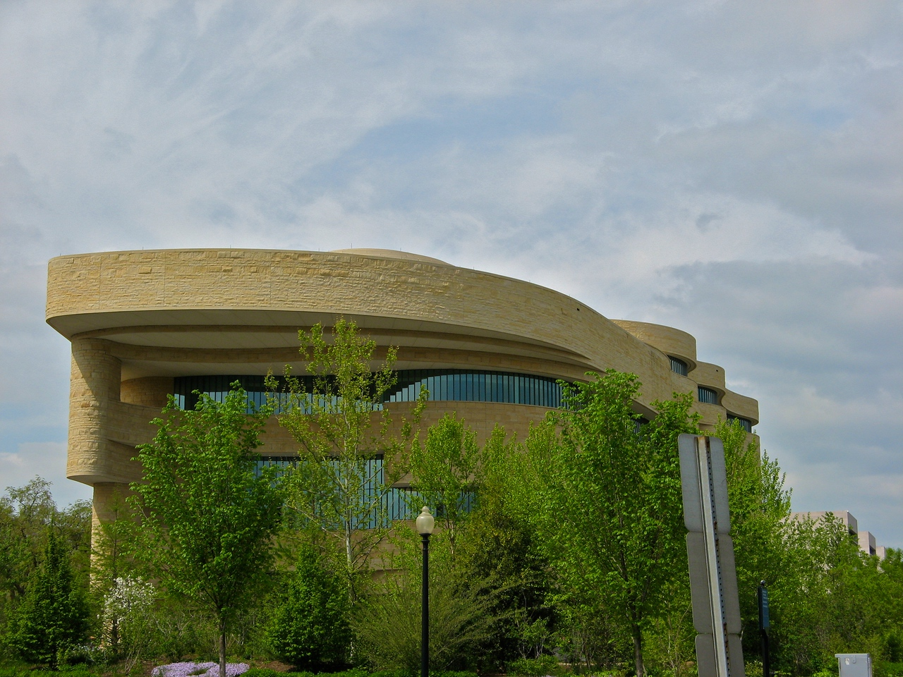 Smithsonian Museum of the American Indian.