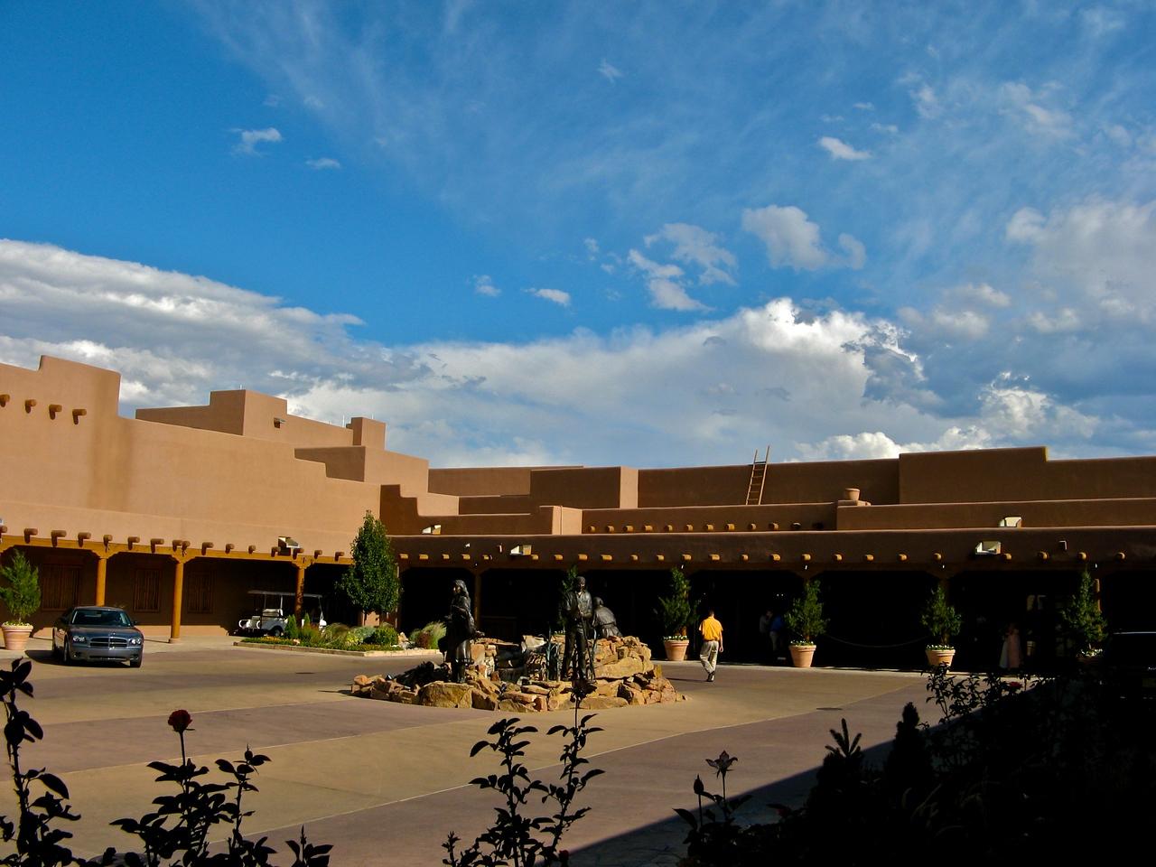 The Hyatt Tamaya Resort sits between Albuquerque and Santa Fe.