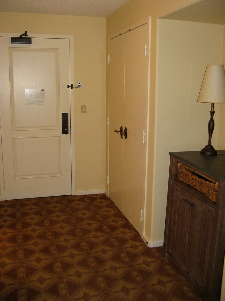 Rooms are large and many face the interior courtyard.