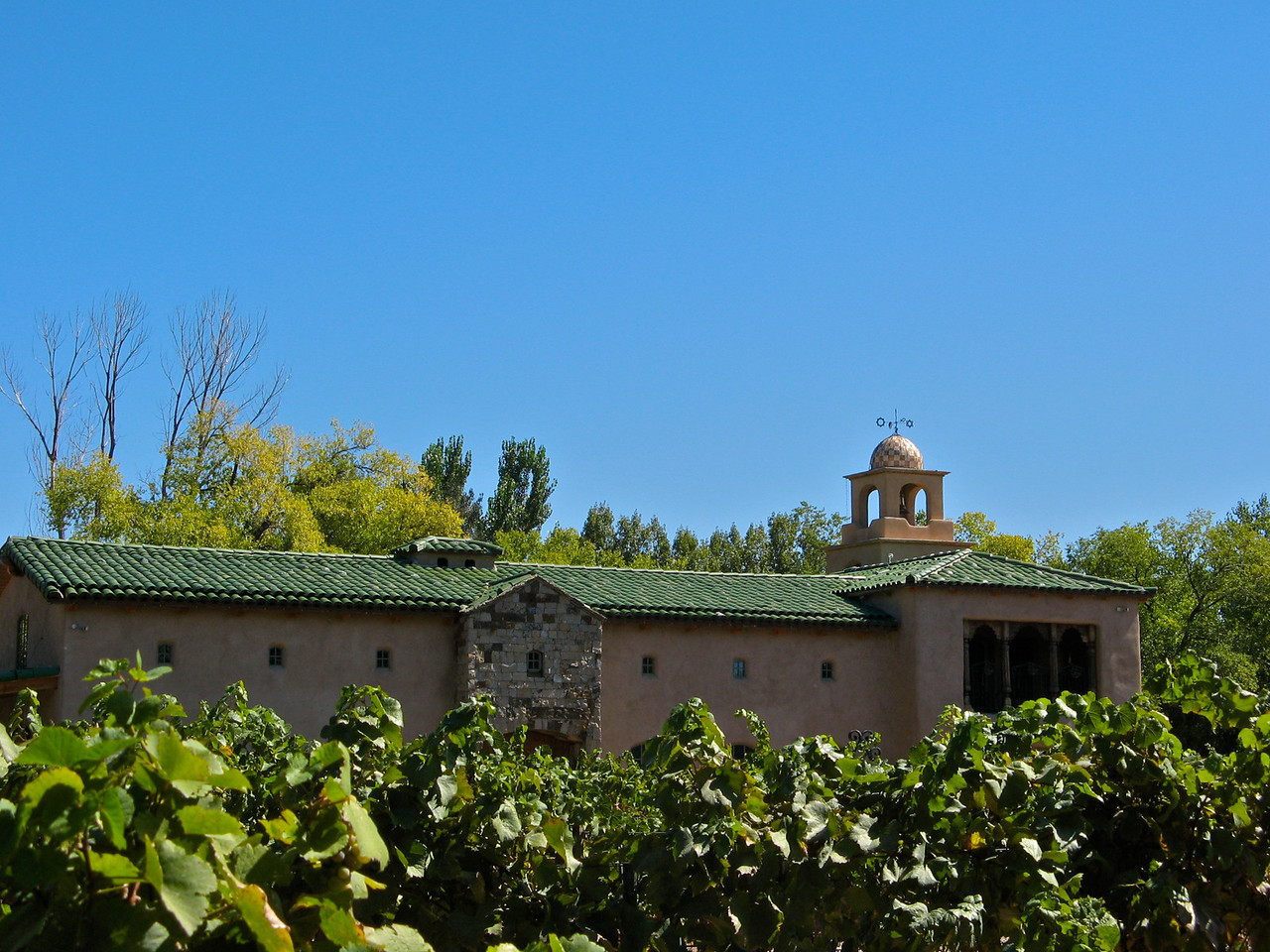 The winery has a large tasting room and is open throughout the week.