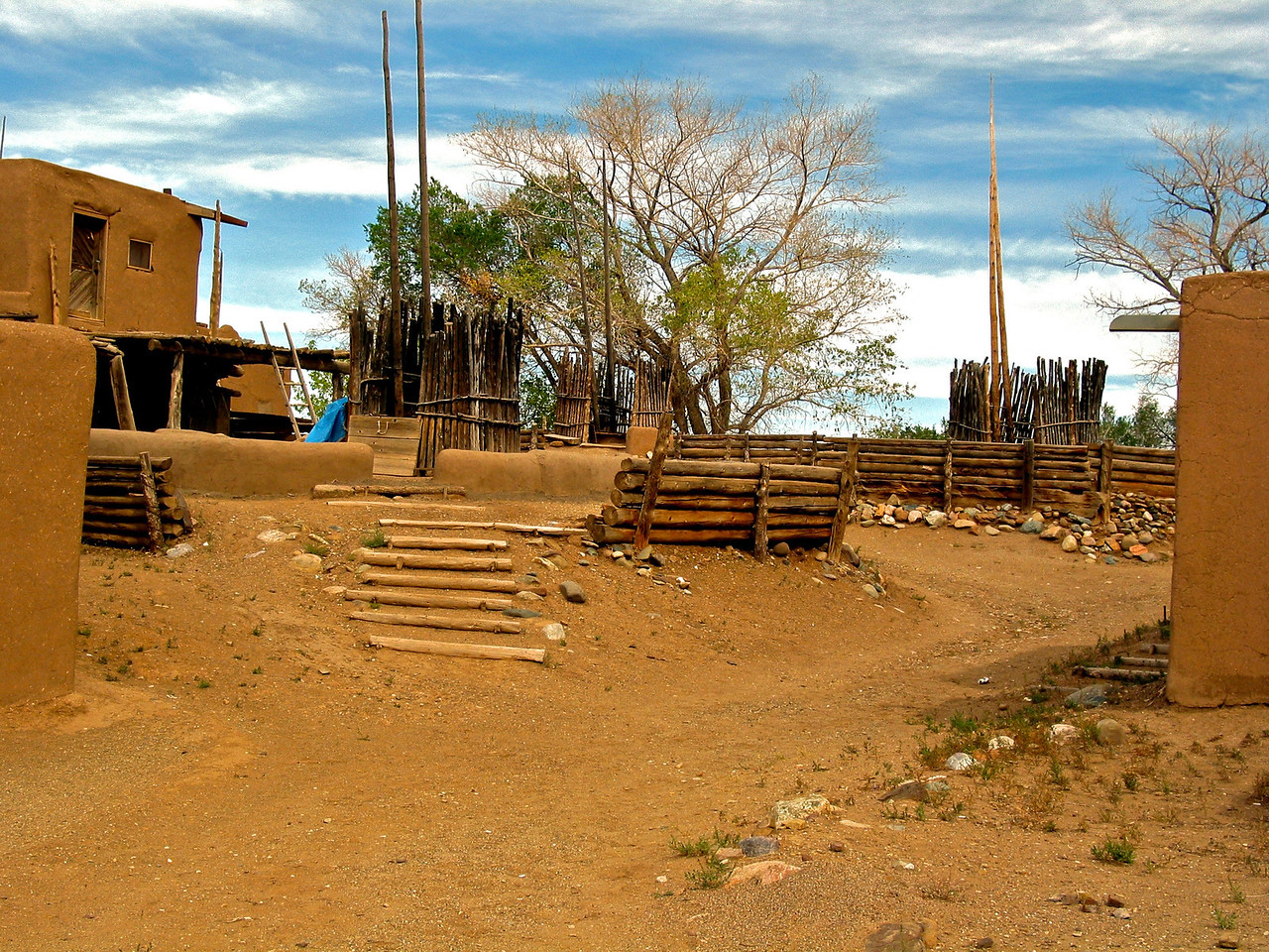 "The deep feeling of belonging to a community, summed up in their phrase, ""we are in one nest,"" has held the Taos people together. Both men and women are expected to offer their services or ""community duties,"" when needed. One should be cooperative and never allow their own desires to be destructive of the community's interest."