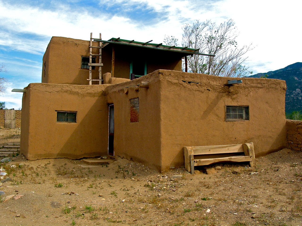 One of Taos's strongest institutions is the family. Descent on both the father and the mother's side of the family is equally recognized. Each primary family lives in a separate dwelling so when a couple gets married, they move to their own home. With relatives so near by, everyone is available to help care for the children. The elderly teach the young the values and traditions that have been handed down, which protects the integrity of the Taos culture.