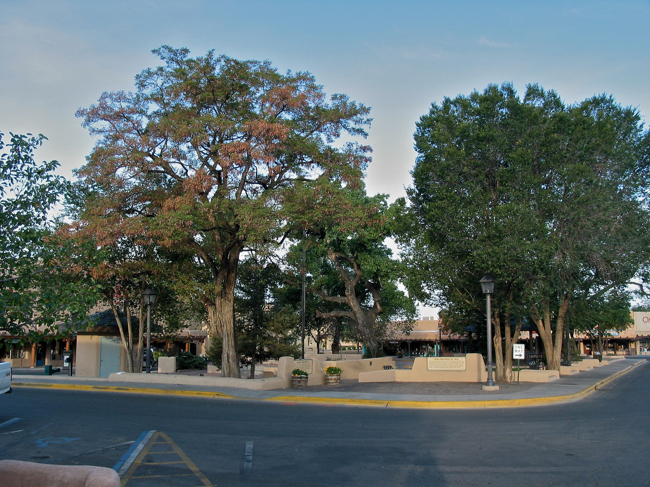 "The center of the Taos Downtown Historic District is the Taos Plaza. The English name Taos derives from the native Taos language meaning ""place of red willows""."